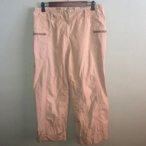 J Crew cropped pants.  Size 6.